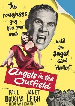 Angels in the Outfield (1951) Movie Poster