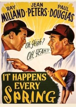 It Happens Every Spring (1949) Movie Poster
