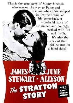 The Stratton Story (1949) Movie Poster